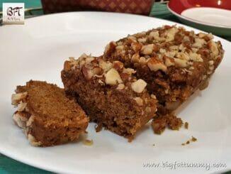 Oat Jaggery Honey Almond Cake