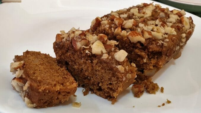 Oat Jaggery Honey Almond Cake