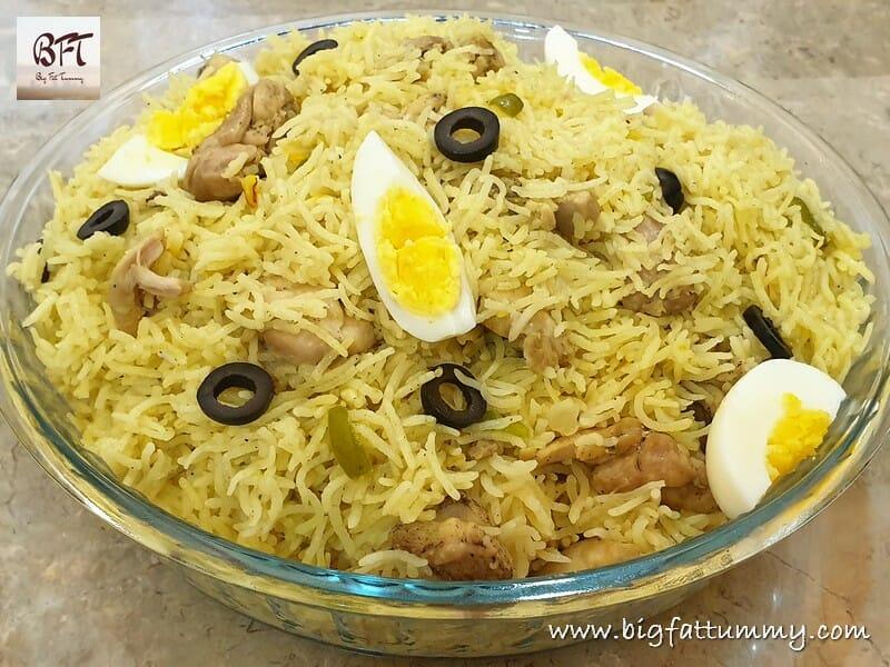 Arroz com Galinha - Goan Chicken Pulao