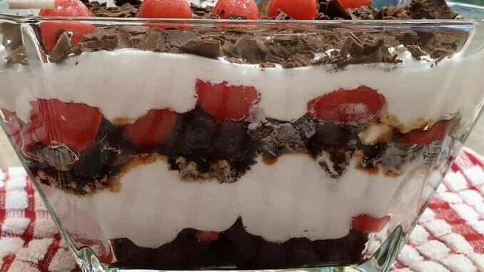 Black Forest Trifle Pudding