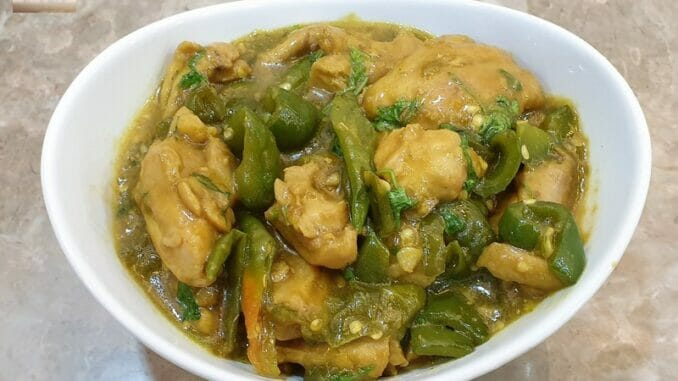 Hyderabadi Chilly Chicken