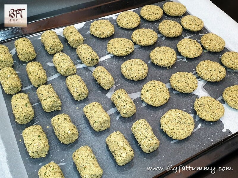 Making of Falafel - Chickpea Fritters