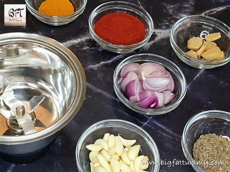 Preparation of Pork Vindalho (Mild Version)