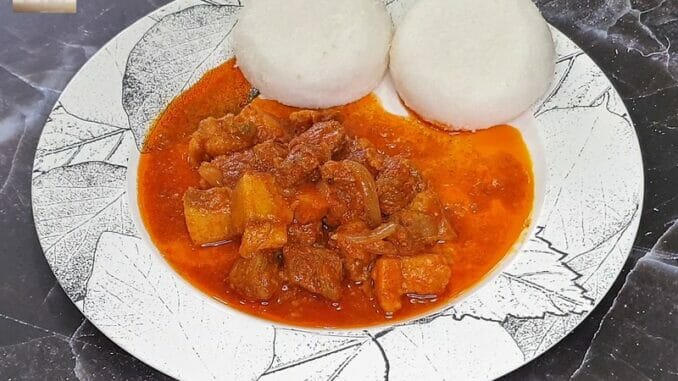 Pork Vindalho (Mild Version)