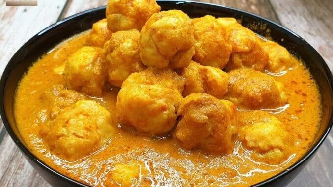 Prawn Ball Curry